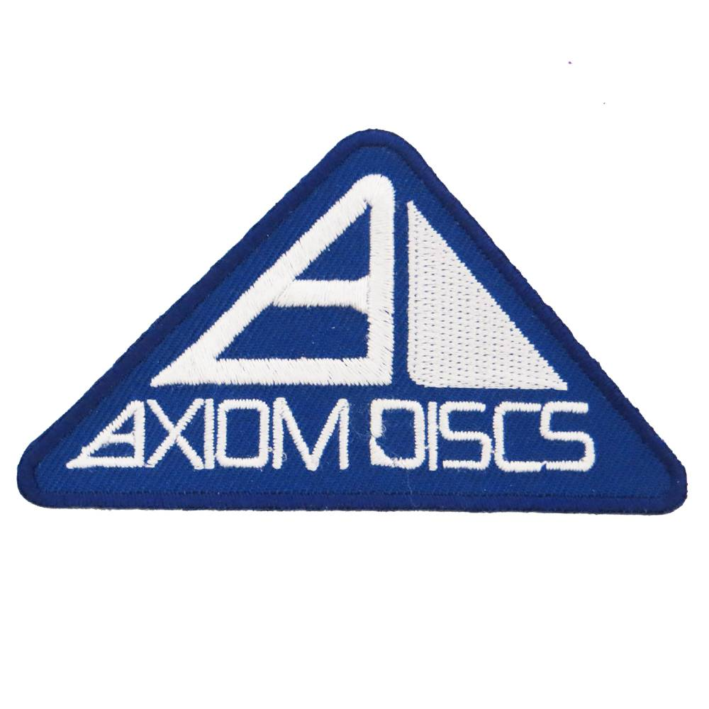 Axiom Discs Pyramid Logo Iron-On Disc Golf Patch