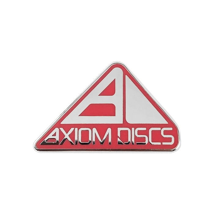 Axiom Discs Pyramid Logo Enamel Disc Golf Pin