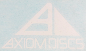 Axiom Discs Logo Vinyl Decal Sticker
