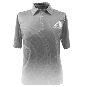 Axiom Discs Graph Sublimated Short Sleeve Performance Disc Golf Polo Shirt