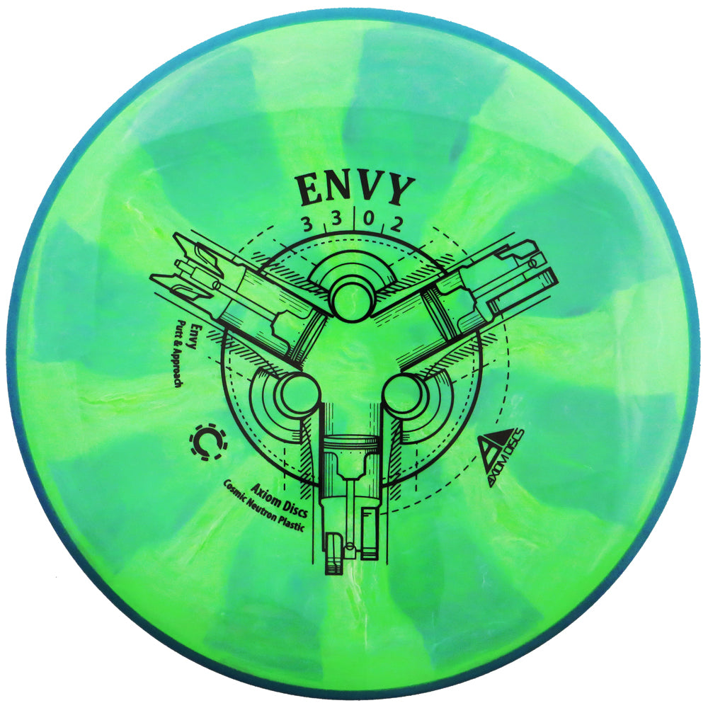 Axiom Cosmic Neutron Envy Putter Golf Disc