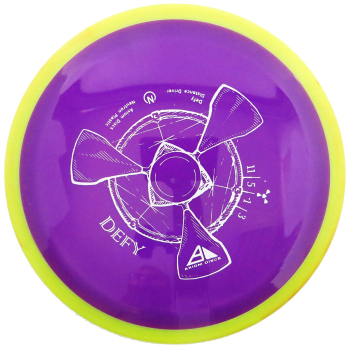 Axiom Neutron Defy Distance Driver Golf Disc