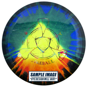 Axiom Tie-Dye Neutron Fireball Distance Driver Golf Disc