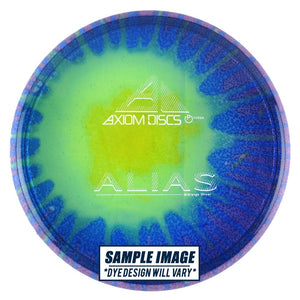 Axiom Tie-Dye Proton Alias Midrange Golf Disc