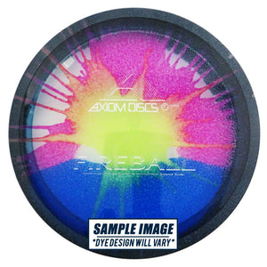 Axiom Tie-Dye Proton Fireball Distance Driver Golf Disc