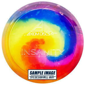 Axiom Tie-Dye Proton Insanity Distance Driver Golf Disc