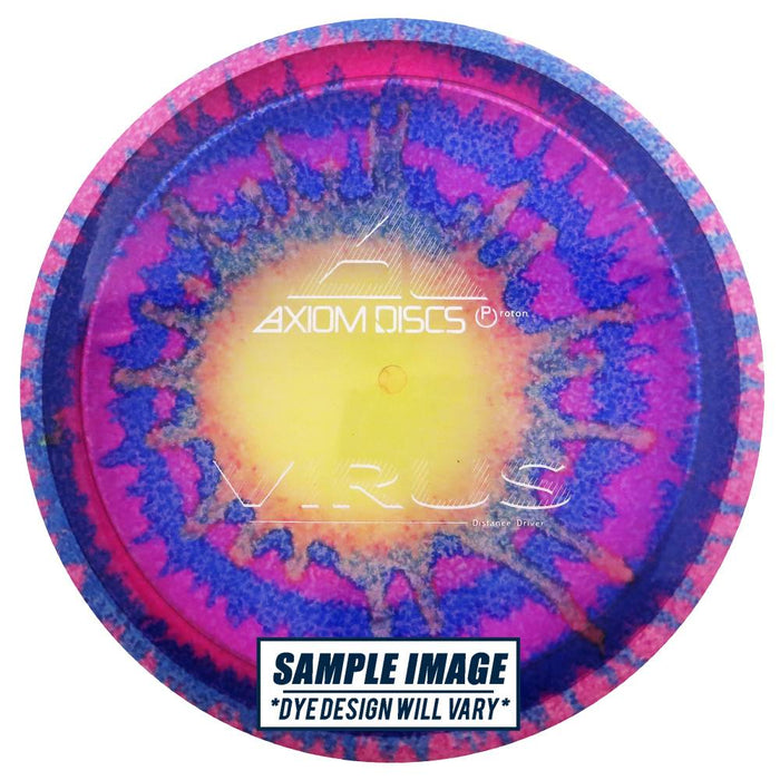 Axiom Tie-Dye Proton Virus Distance Driver Golf Disc