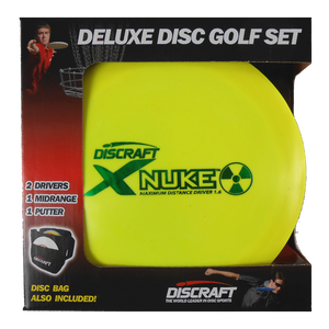 Discraft 4-Disc and Bag Deluxe Disc Golf Set