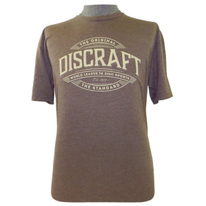 Discraft World Leader in Disc Sports Short Sleeve Disc Golf T-Shirt