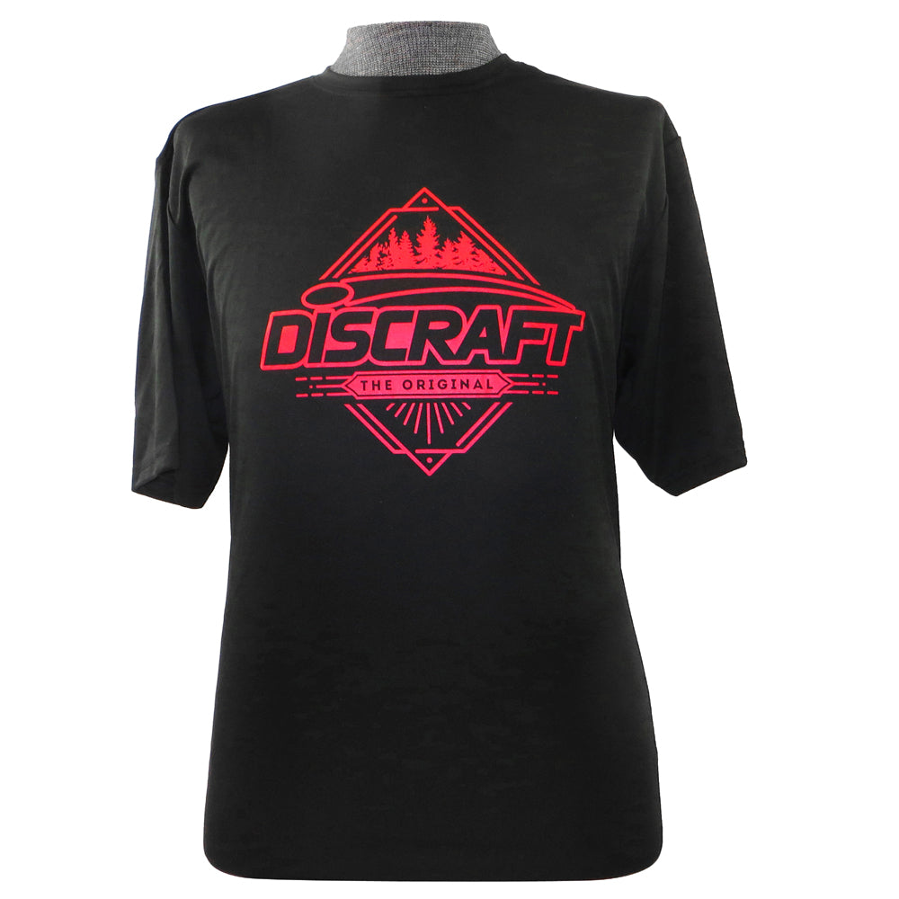 Discraft Trees Short Sleeve Rapid Dry Performance Disc Golf T-Shirt