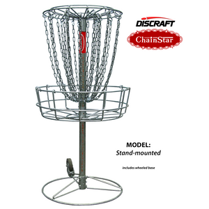Discraft ChainStar 24-Chain Disc Golf Basket