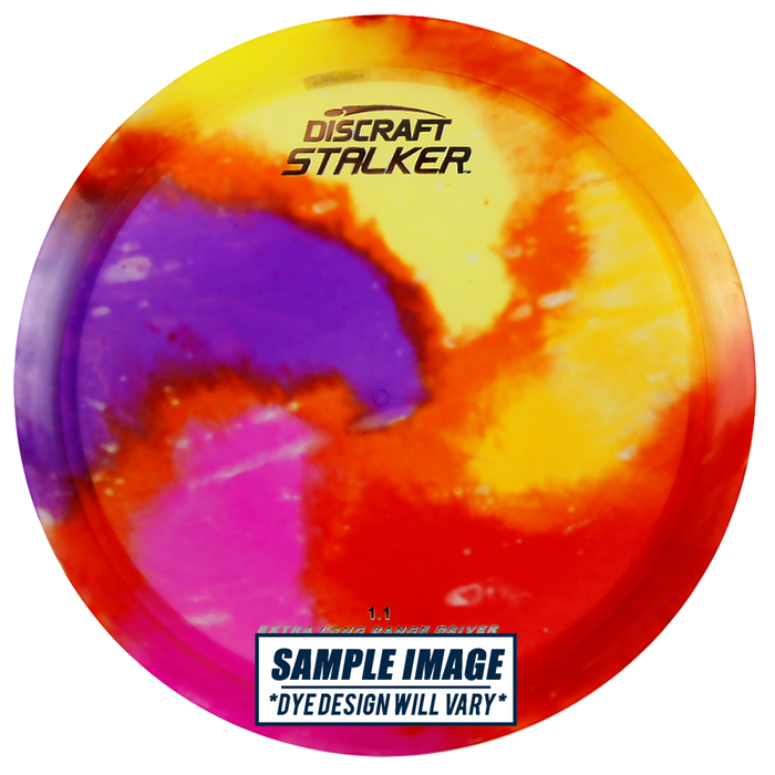 Discraft Fly Dye Elite Z Stalker Fairway Driver Golf Disc