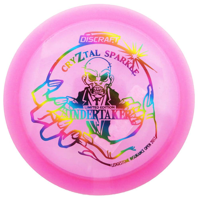 Discraft Limited Edition 2017 Ledgestone Open CryZtal Z Sparkle Undertaker Distance Driver Golf Disc