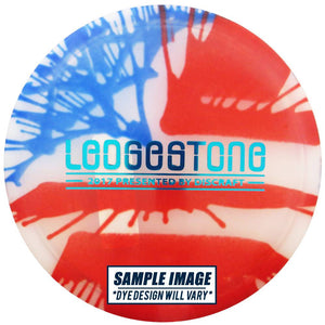 Discraft Limited Edition 2017 Ledgestone Open Fly Dye Flag Elite Z Buzzz Midrange Golf Disc