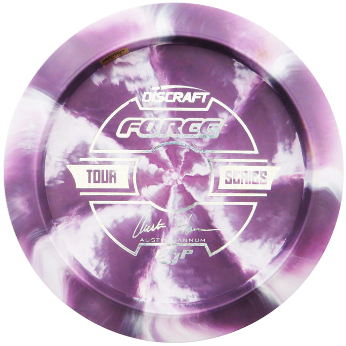 Discraft Limited Edition 2019 Tour Series Austin Hannum Understamp Swirl ESP Force Distance Driver Golf Disc