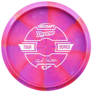 Discraft Limited Edition 2019 Tour Series Andrew Presnell Understamp Swirl ESP Drone Midrange Golf Disc