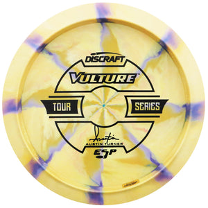 Discraft Limited Edition 2019 Tour Series Austin Turner Understamp Swirl ESP Vulture Distance Driver Golf Disc
