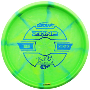 Discraft Limited Edition 2019 Tour Series Brian Earhart Understamp Swirl ESP Zone Putter Golf Disc