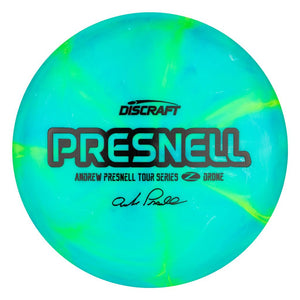 Discraft Limited Edition 2020 Tour Series Andrew Presnell Swirl Elite Z Drone Midrange Golf Disc