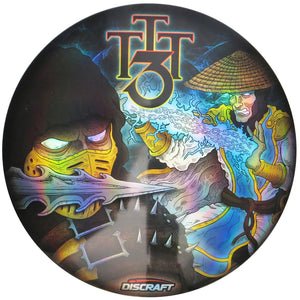 Discraft Limited Edition 2020 Twin Town Throwdown Mortal Kombat Full Foil SuperColor ESP Buzzz Midrange Golf Disc