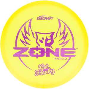 Discraft Limited Edition Brodie Smith Get Freaky CryZtal Z FLX Zone Putter Golf Disc