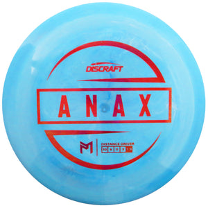 Discraft Limited Edition Paul McBeth Signature ESP Anax Distance Driver Golf Disc