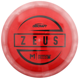 Discraft Limited Edition Paul McBeth Signature ESP Zeus Distance Driver Golf Disc