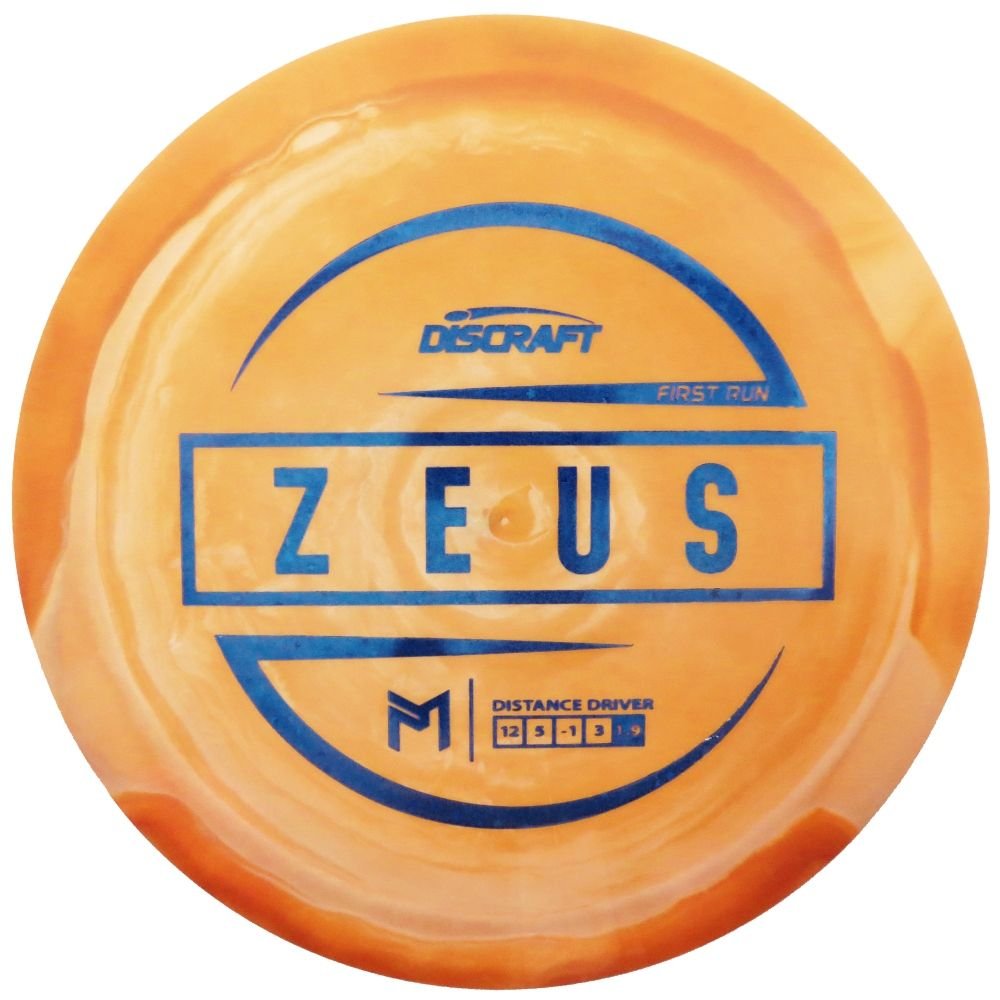 Discraft Limited Edition First Run Paul McBeth Signature ESP Zeus Distance Driver Golf Disc