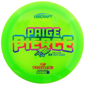 Discraft Limited Edition First Run Paige Pierce 5X Signature Elite Z Sol Midrange Golf Disc