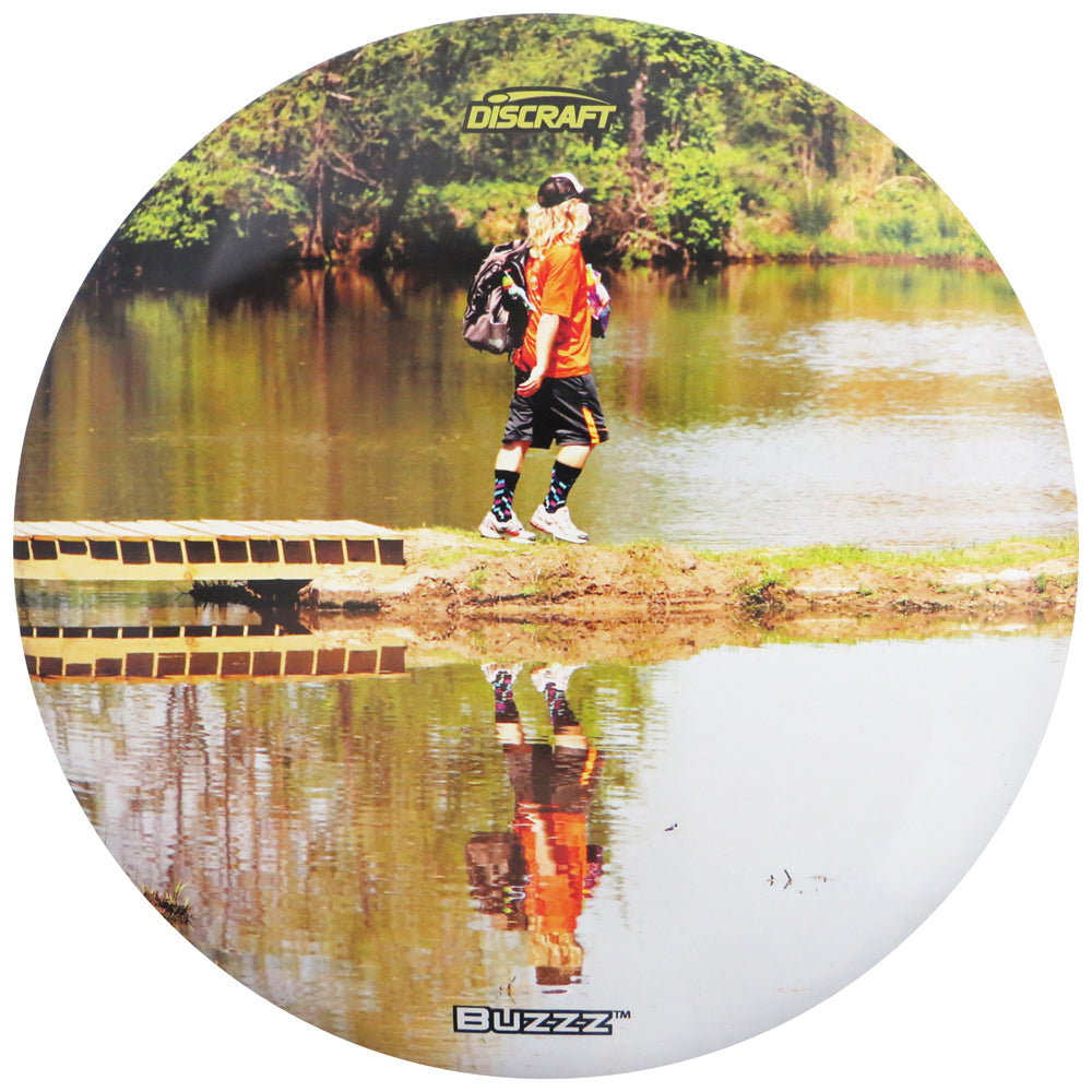 Discraft Limited Edition Matt Mayo Memorial Reflection SuperColor ESP Buzzz Midrange Golf Disc