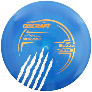 Discraft Limited Edition Paul McBeth 5X Signature ESP Buzzz Midrange Golf Disc