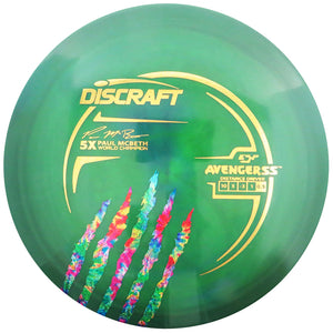Discraft Limited Edition Paul McBeth 5X Signature ESP Avenger SS Distance Driver Golf Disc