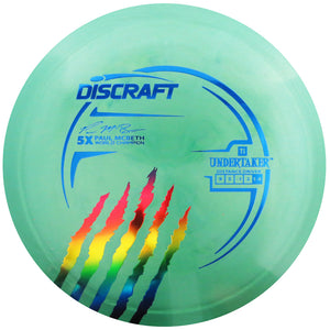 Discraft Limited Edition Paul McBeth 5X Signature Titanium Undertaker Distance Driver Golf Disc
