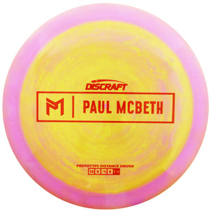 Discraft Limited Edition Prototype Paul McBeth Signature ESP Kong Distance Driver Golf Disc