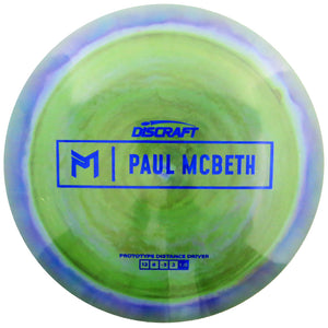 Discraft Limited Edition Prototype Paul McBeth Signature ESP Hades Distance Driver Golf Disc