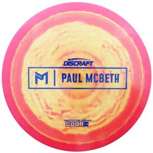 Discraft Limited Edition Prototype Paul McBeth Signature ESP Anax Distance Driver Golf Disc