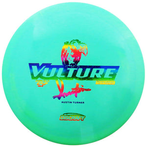 Discraft Limited Edition 2018 Tour Series Signature Austin Turner Swirl Glo ESP Vulture Distance Driver Golf Disc