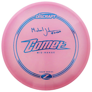 Discraft Limited Edition Tour Series Signature Michael Johansen Elite Z Comet Midrange Golf Disc