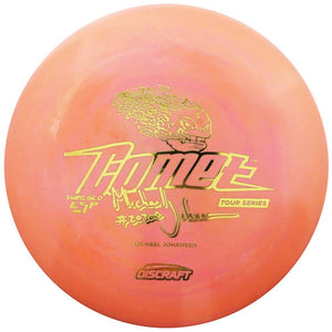 Discraft Limited Edition 2018 Tour Series Signature Michael Johansen Swirl Glo ESP Comet Midrange Golf Disc