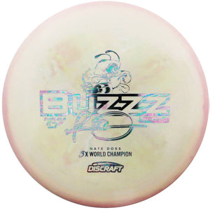 Discraft Limited Edition 2018 Tour Series Signature Nate Doss Swirl Glo ESP Buzzz Midrange Golf Disc
