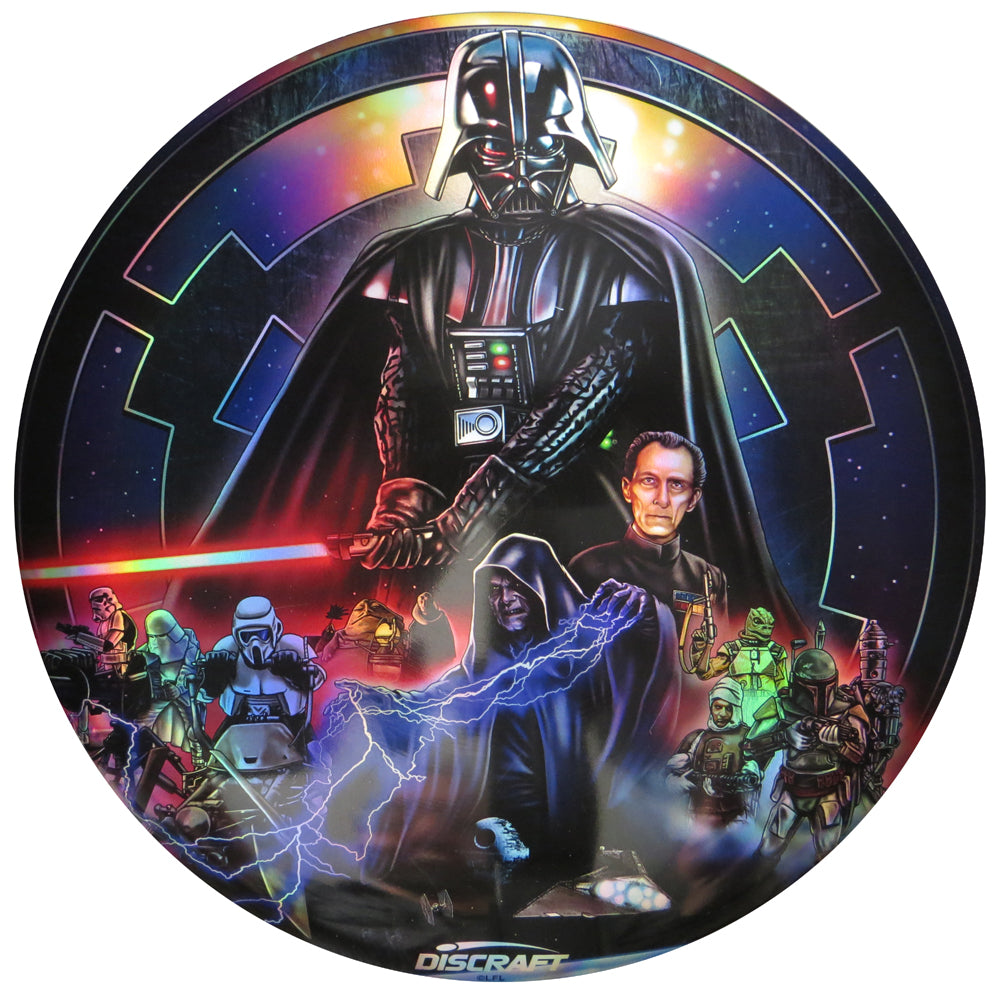 Discraft Star Wars Dark Side Collage Full Foil SuperColor ESP Buzzz Midrange Golf Disc