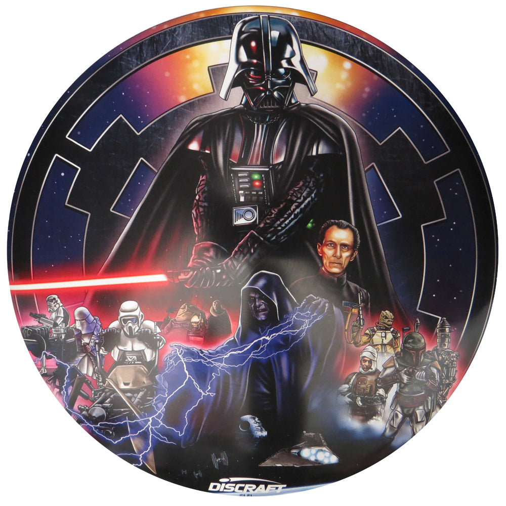 Discraft Star Wars Dark Side Collage SuperColor ESP Buzzz Midrange Golf Disc