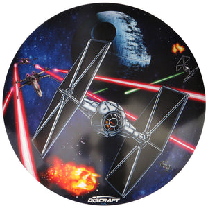 Discraft Star Wars Death Star Scene SuperColor ESP Buzzz Midrange Golf Disc
