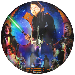 Discraft Star Wars Light Side Collage Full Foil SuperColor ESP Buzzz Midrange Golf Disc