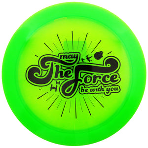 Discraft Star Wars May the Force Be With You Elite Z Force Distance Driver Golf Disc