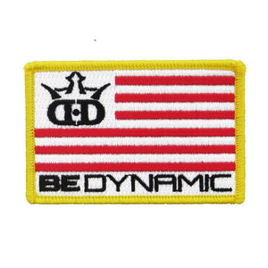 Dynamic Discs Be Dynamic Flag Iron-On Disc Golf Patch