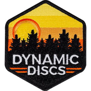 Dynamic Discs Sunset Hex Iron-On Disc Golf Patch