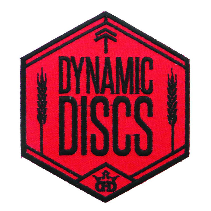 Dynamic Discs Wheat Shield Iron-On Disc Golf Patch