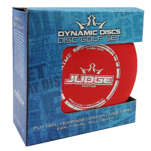 Dynamic Discs 3-Disc and Bag Prime Starter Disc Golf Set