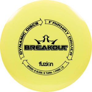 Dynamic Discs BioFuzion Breakout Fairway Driver Golf Disc